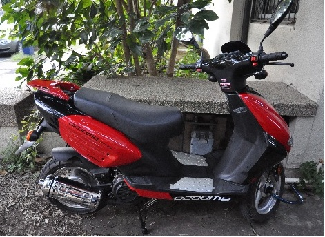 Ozooma flyer 125cc motor scooter for sale sydney for Motor wheelchair for sale