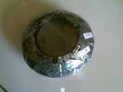 Art handycrafts of Indah creation(Bali)Sea shell big ashtray