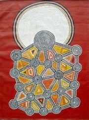 Debra Nangala Aboriginal Art at The Butler Goode Gallery