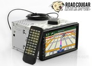 Road Cougar - 6.95 Inch HD Touchscreen Car DVD