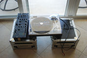 DJ equipment 2 pioneer CDJ 1000 ,  1 Technics 1200 ,  1 Rane MP22z mixer