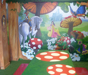 Kids birthday party places and rooms