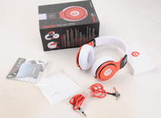 Monster Beats By Dr Dre Pro Headphone Red White Black for Sale Release