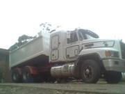 TIPPER TRUCK 1995 MACK 427HP ELITE CH/SLEEPER CAB/2 MONTHS REDGO