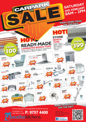 Bathroom Products & Accessories Car Park Sale 2nd Feb Save up to 70%