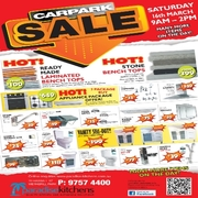 Bathroom & Kitchen Products - Car Park Sale on 16th March [9AM to 2PM]