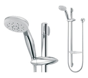 Get Elegant Bathroom Shower Head Rail Dual Spray @ $171.60