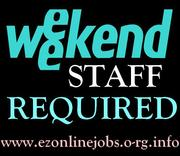 Cash JOBS Offered (Weekend Staff Required)