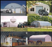 Metal Storage Buildings,  Barns and Sheds - Factory Inventory Clearance