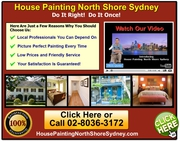House Painter North Shore Sydney | 02-8036-3172
