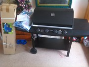 *4-BURNER AVOCA BBQ -AS NEW & NEVER USED +BRAND NEW BLUE GAZEBO!*