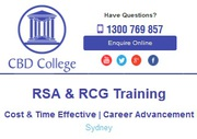 RSA RCG Barista Courses in Sydney at CBD College