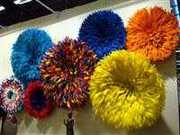 Decorative Feathered Juju Hats/Headdress