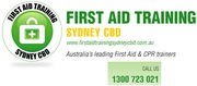 Need a First Aid Certificate Course in Sydney NSW ?
