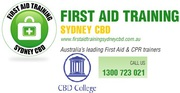 40% Off Childcare & Senior First Aid in Sydney & Perth Australia