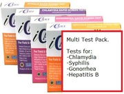 Order the Multi STD Test Kits Online - Quick and Confidential!