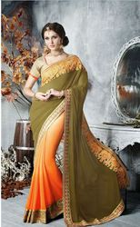 Buy Indian Designer Sarees Online for Reception and Wedding