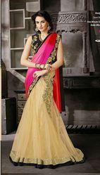 Buy Indian Designer Sarees Online for Casual,  Reception,  Wedding
