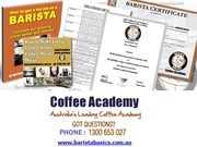 Barista Coffee Certification Course in Sydney & Melbourne Australia