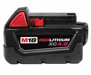 M18 4.0 AH 18v Lithium Battery XC M18B4 For Milwaukee 48-11-1840