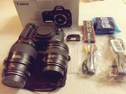 CANON 5D MARK III BODY AND LENSES FOR SALE
