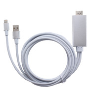 iPhone Lightning 8pin to HDMI Cable 2M HDTV Display Adaptor for iPhone
