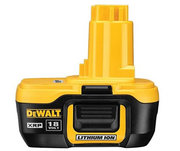 DEWALT DC9182 DC9180 18V LITHIUM ION XRP BATTERIES