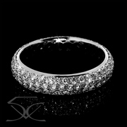 Sparkle Your Special Day with Pave' set Diamonds Wedding Ring
