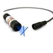 Clear Aligning of Blue Crosshair Laser Module