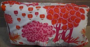 Two Large Size Couch Cushions & Handmade Swedish Fabric Covers