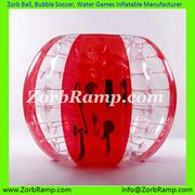Human Hamster Ball Bubble Soccer Zorb Loopy Ball Walker | ZorbRamp.com