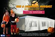 Here's Halloween Giveaway!  win a luxurious $149. 97 Marquee