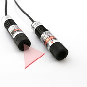 Separate Crystal Lens Equipped 635nm Red Line Laser Module