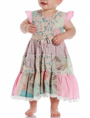 Girls Panel Floral Dress at Affordable Rates in Australia