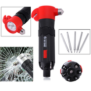 6-in-1 Multi-functional Car Emergency Hammer | Papachina