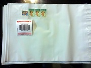 10 x 500g Australia Post Satchel with Tracking Labels