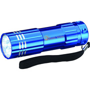 9 LED Aluminum Flashlight by PapaChina