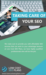 Taking Care of Your SEO