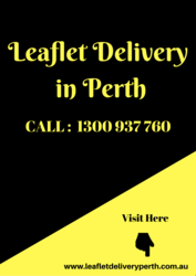 Get GPS Tracked Leaflet Delivery in Perth