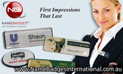 Name Badges & Tags with No Setup Fees at Name Badges International