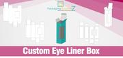 Unique Eyeliner Packaging Box in Ontario Canada