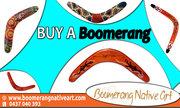 Top Wooden Boomerang Art Company in Australia (https://www.boomerangnativeart.com)