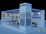 Latest 3D Stall Design in India by Nipra3DStudio