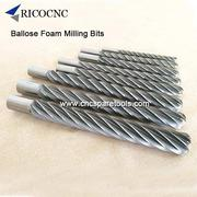 Ballnose Big Long Foam Mill Bits for EPS Poly Foam Cutting