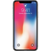 Apple - iPhone X 256GB - Space