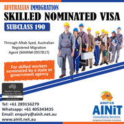 GET SKILLED NOMINATED VISA 190 IN AUSTRALIA- SKILLED MIGRATION
