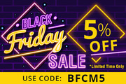 BLACK FRIDAY SALE. 5% OFF SiteWide On All Pet Supplies and Pet Foods