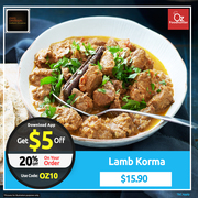 Get 20% off on your 1st Order @ Curry Connection