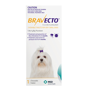 Bravecto For Dogs - Flea & Tick Treatment
