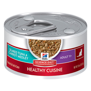 Hill's Science Diet Adult 11+ Healthy Cuisine Seared Tuna & Carrot Med